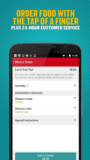 Seamless Food Delivery/Takeout  screenshots 5