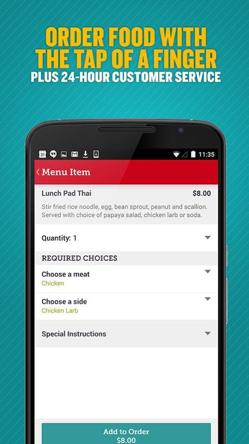 Seamless Food Delivery/Takeout- screenshot