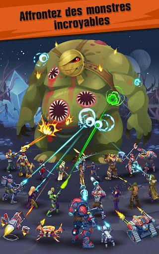 Télécharger Gratuit Jeux Clicker idle rpg: Evolution Heroes of Utopia APK MOD (Astuce) screenshots 1