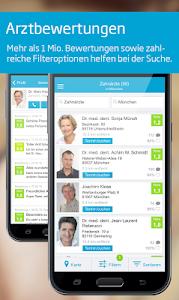 Arztsuche jameda screenshot 1