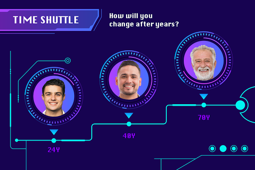 Face Explorer – Time Shuttle & Daily Fortune screenshot 1