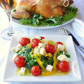 Warm Kale Salad with Lemon & Honey