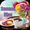 Tarjetas de Buenos Días. Saludos icon