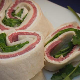 Bison Pastrami Pinwheels