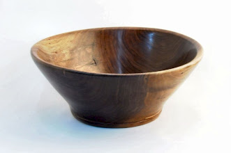 "Photo: Gary Nickerson - Bowl - 11"" x 5"" - Walnut  [10.08]"