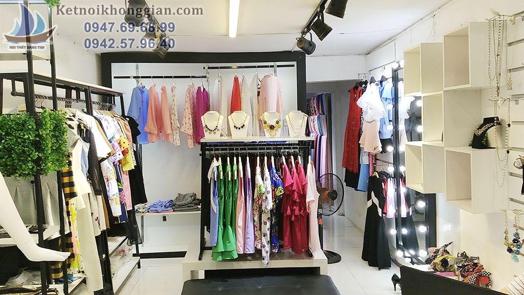 thiết kế thi công shop thời trang chuyên nghiệp