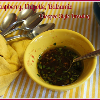 Raspberry, Chipotle, Balsamic, Chopped Style Dressing
