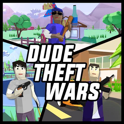 Dude Theft Wars: Open World Sandbox Simulator BETA 0.87c