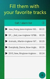 RandTune: Ringtone Randomizer Screenshot