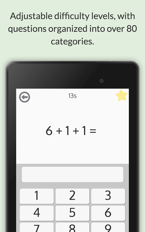 Arithmetic Genius free (pk 1)- screenshot