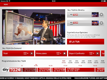 Sky TG24- screenshot thumbnail