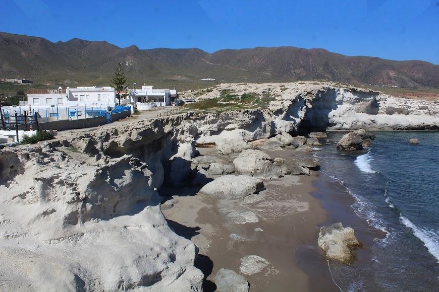 Parque Natural Cabo de Gata-Níjar, playa de los Escullos.