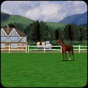 Horse Farm Livewallpaper 3D