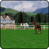 Horse Farm Livewallpaper 3D