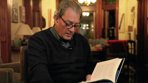 Author's bubble: Paul Auster started his 18th novel, 4 3 2 1, which has been long-listed for the Man Booker Prize, when he was 66 years old, the age at which his father died, and he says he put everything else aside to finish the 866-page book, completing it in three-and-a-half years instead of five. Picture: SUPPLIED