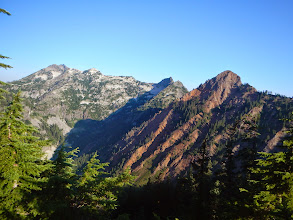 Photo: Red Mountain and Lundin Peak