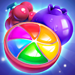Fruit Smash-Juice Splash Free Match 3 Game Icon