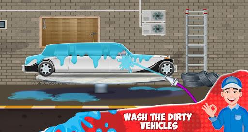 Kids Car Wash Service Station screenshot 5