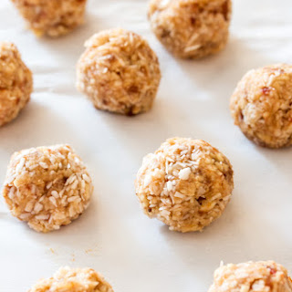 Apple Cashew Coconut Snack Bites Recipe