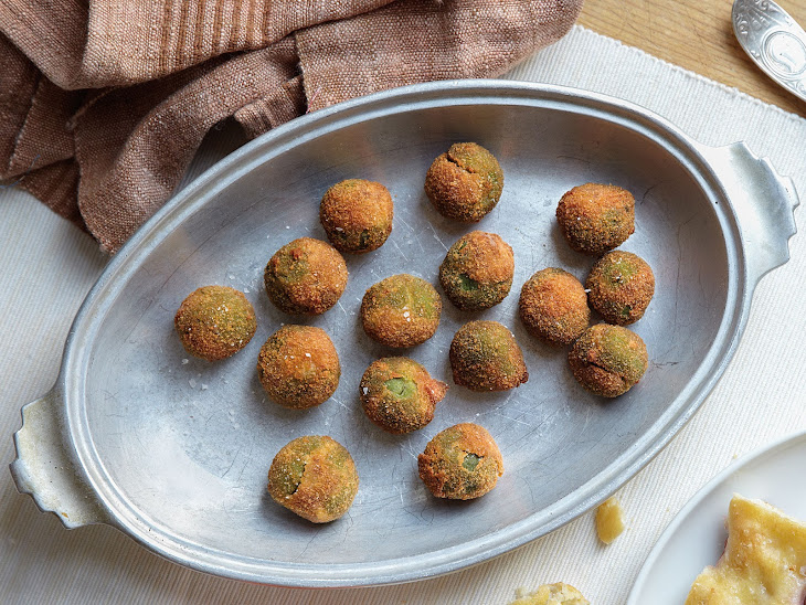 Fried Stuffed Castelvetrano Olives Recipe | Yummly