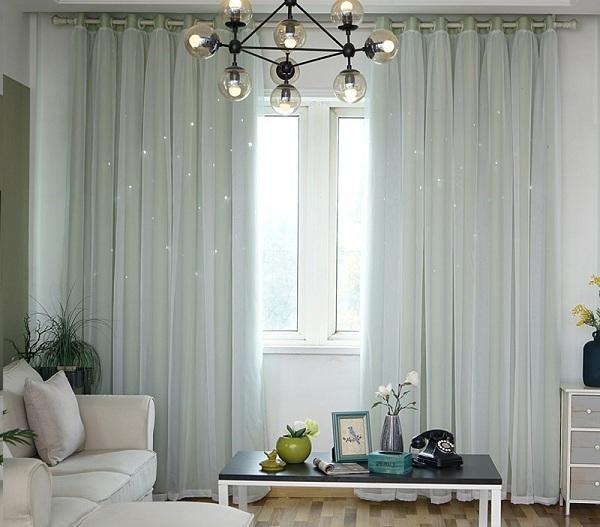 Chọn rèm chống nắng theo màu sắc và chất liệu