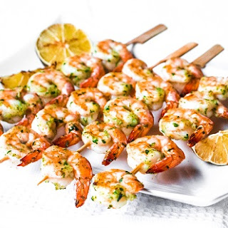 Herby Shrimp Skewers