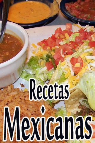 Recetas Mexicanas.