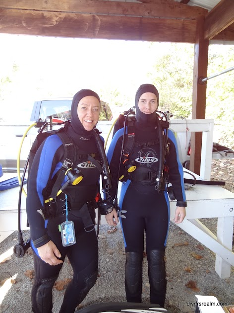 Getting ready to go Diving at Mermet Springs