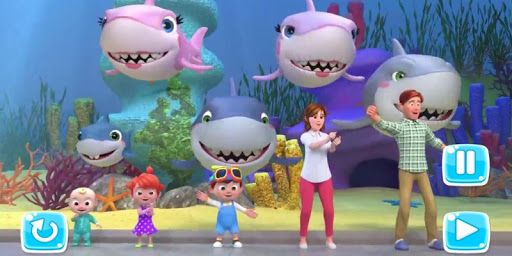 The Baby Shark - Kids song App  screenshots 1