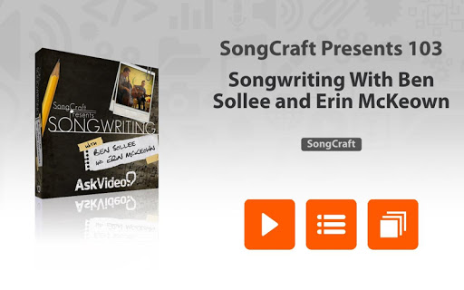 SongCraft Presents Songwriting