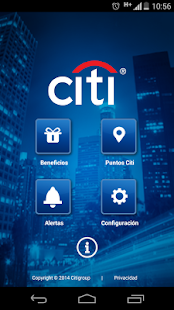 Citi Beneficios AR- screenshot thumbnail