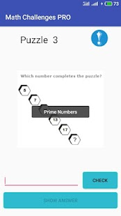 NEW Math Challenges PRO 2019 - Puzzle for Geniuses Screenshot