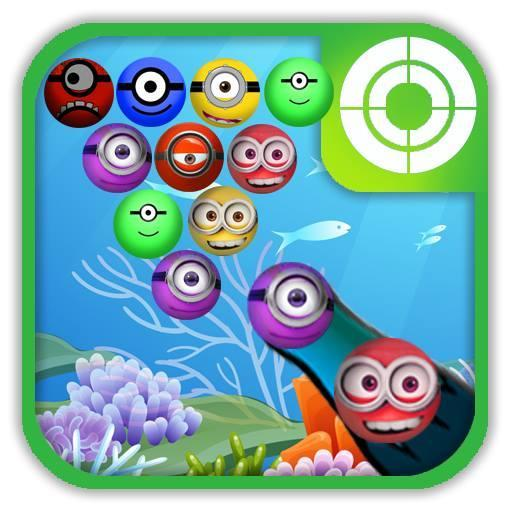 Underwater Puzzle:Bubble Shoot (game)