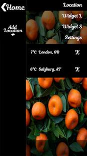 citrusové plody počasí hodiny - náhled