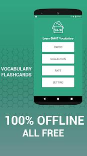 Learn GMAT Vocabulary Cards - náhled