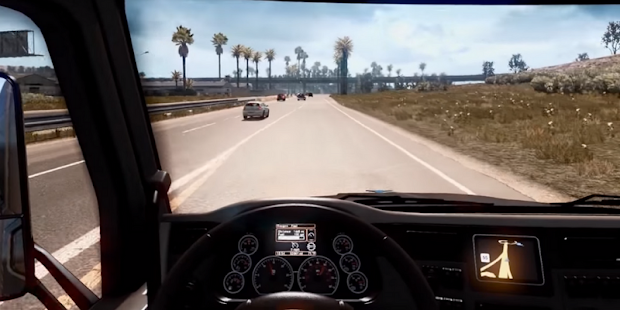 American Truck Simulator Deluxe 2017 - náhled