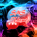 Цвет дыма Theme GO SMS icon