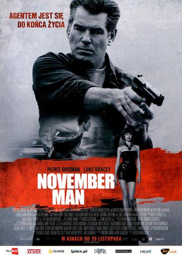 Przód ulotki filmu 'November Man'