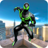 Parkour Spider Superhero 3D