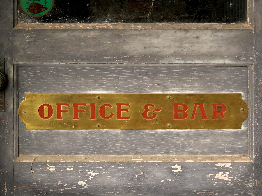 One And The Same by Michele Whitlow - Buildings & Architecture Office Buildings & Hotels ( office, sutter creek, gold, historical, bar )