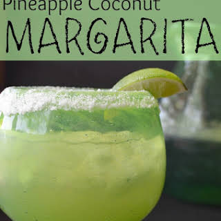 Pineapple Coconut Margarita.
