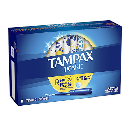 Tampones Tampax Pearl 8 und
