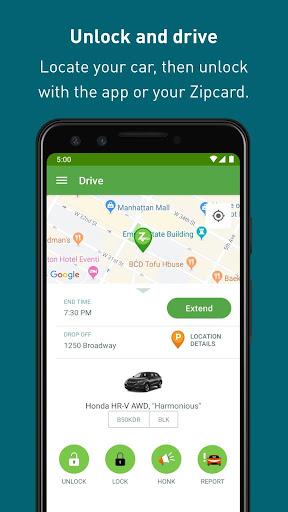 Zipcar screenshots 5