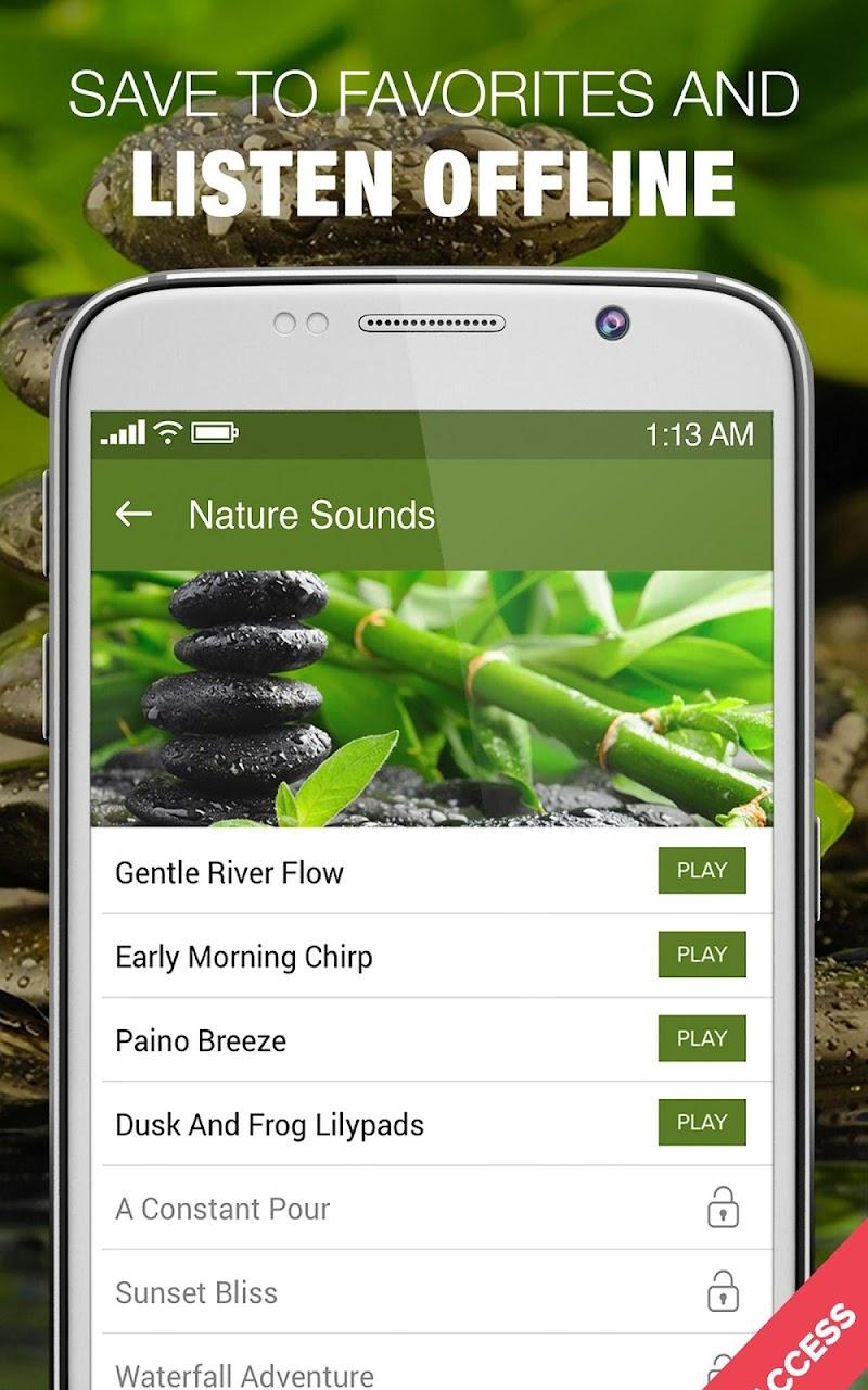 1000 Nature Sleep Relax Sounds Screenshot 7