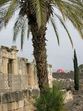Photo: ruins of the ancient synagogue