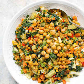 Fall Israeli Couscous Salad.