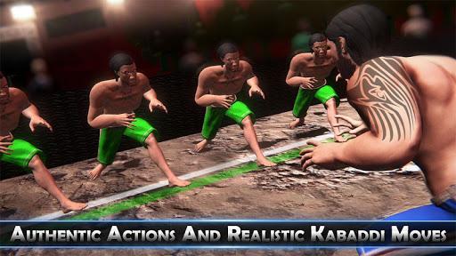Real Kabaddi Fighting 2019: New Sports Game screenshots 1