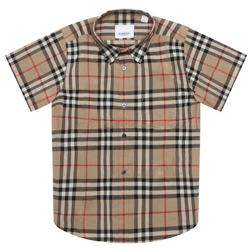 Thumbnail images of Burberry Beige Checked Shirt
