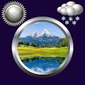 Reloj de la naturaleza y widge icon