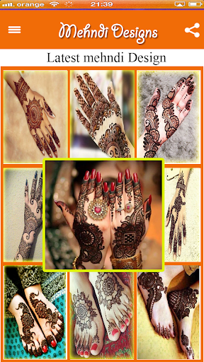 2018 All Trendy Mehndi Designs 1.1 screenshots 1